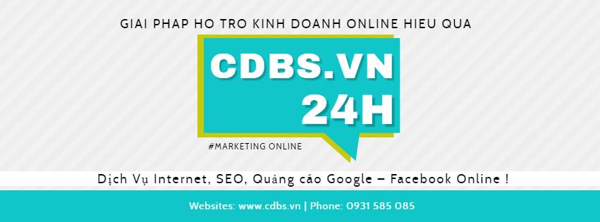 CDBS.VN : Dịch Vụ Internet, SEO, Dịch vụ quảng cáo Google – Facebook Online
